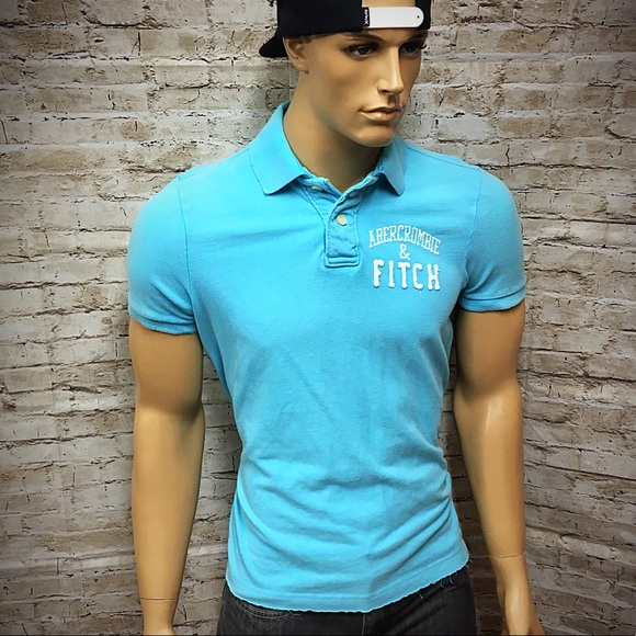 5b55aefd Abercrombie & Fitch Other - Men's Abercrombie Muscle Fit Polo Shirt Sz Large